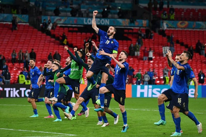 Italy defeated Austria 2-1 after extra-time.