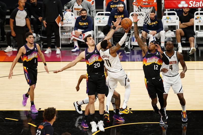 The Denver Nuggets and the Phoenix Suns will face off at the Phoenix Suns Arena on Wednesday night