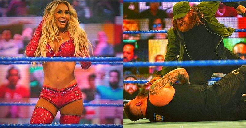 A crazy night on SmackDown