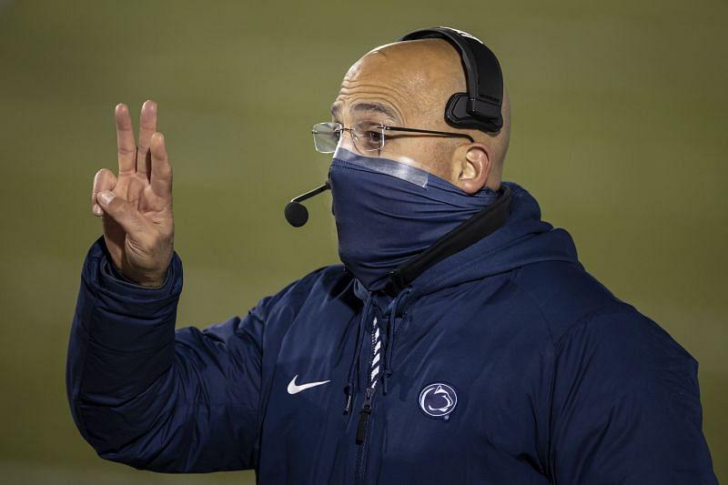 Penn State head coach James Franklin
