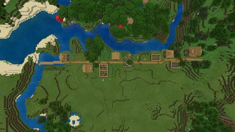5 best secret village seeds in Minecraft 1.17 Caves & Cliffs update