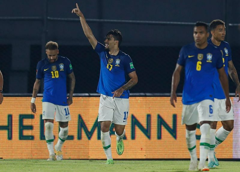 Paqueta added the finishing touches for Brazil in stoppage-time