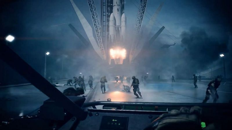Rocket taking off (Image via Battlefield)
