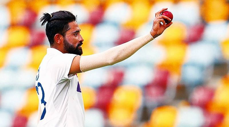 Mohammed Siraj has bowled with the SG and the Kookaburra