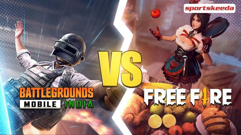 Comparing BGMI and Free Fire