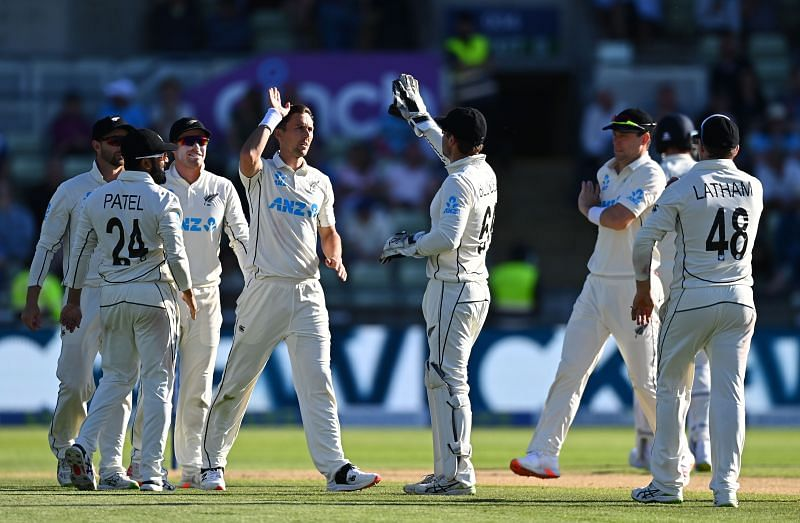 New Zealand cricket team. Pic: Getty Images