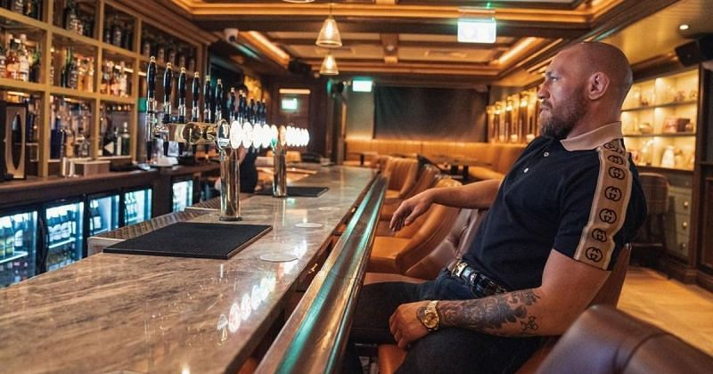 Conor McGregor in The Black Forge Inn. Image via Instagram @thenotoriousmma
