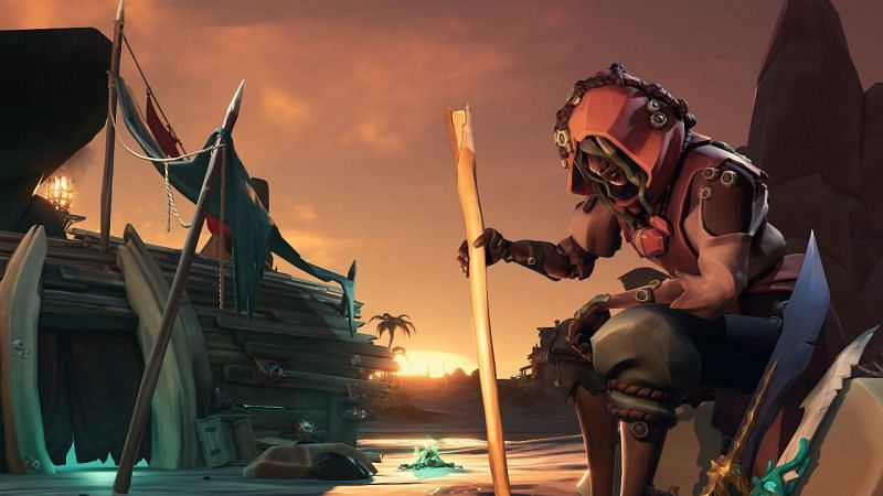Many players are itching to start the Pirates of the Caribbean content in Season 3 of Sea of Thieves (Image via Microsoft)