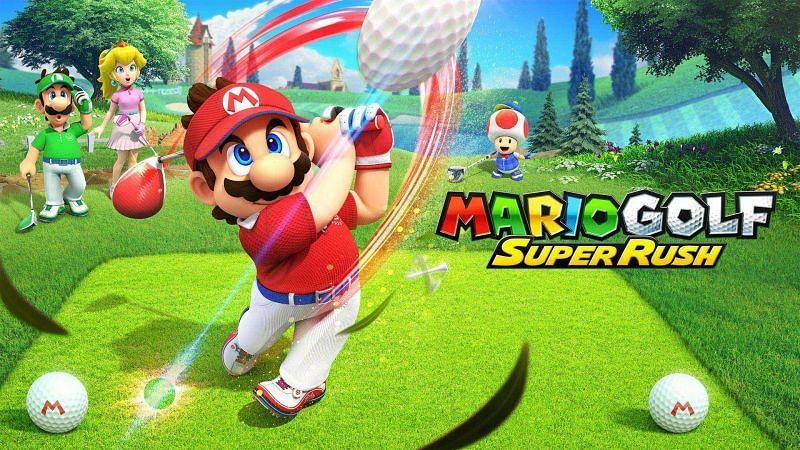 Mario Golf: Super Rush. Image via Nintendo