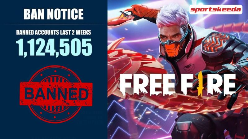 The Free Fire anti-cheat report is out