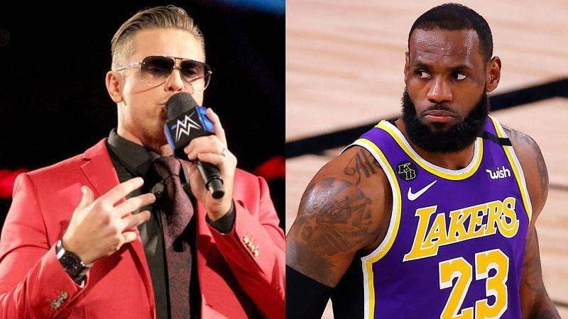 The Miz and LeBron James