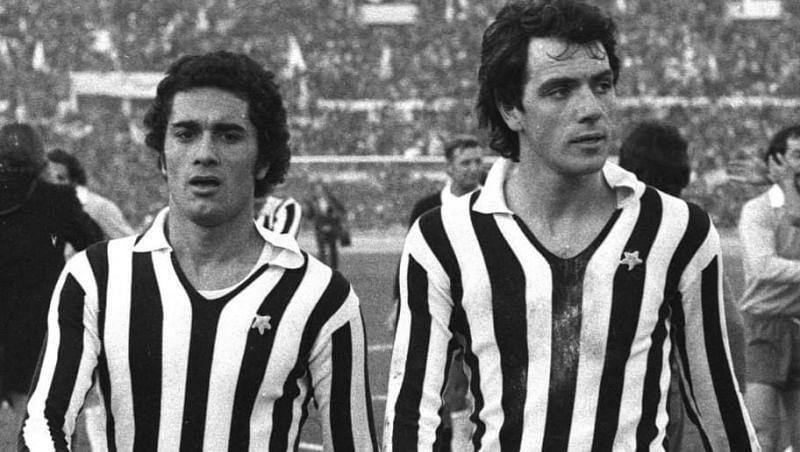 Claudio Gentile and Gaetano Scirea (cred: 90mins)