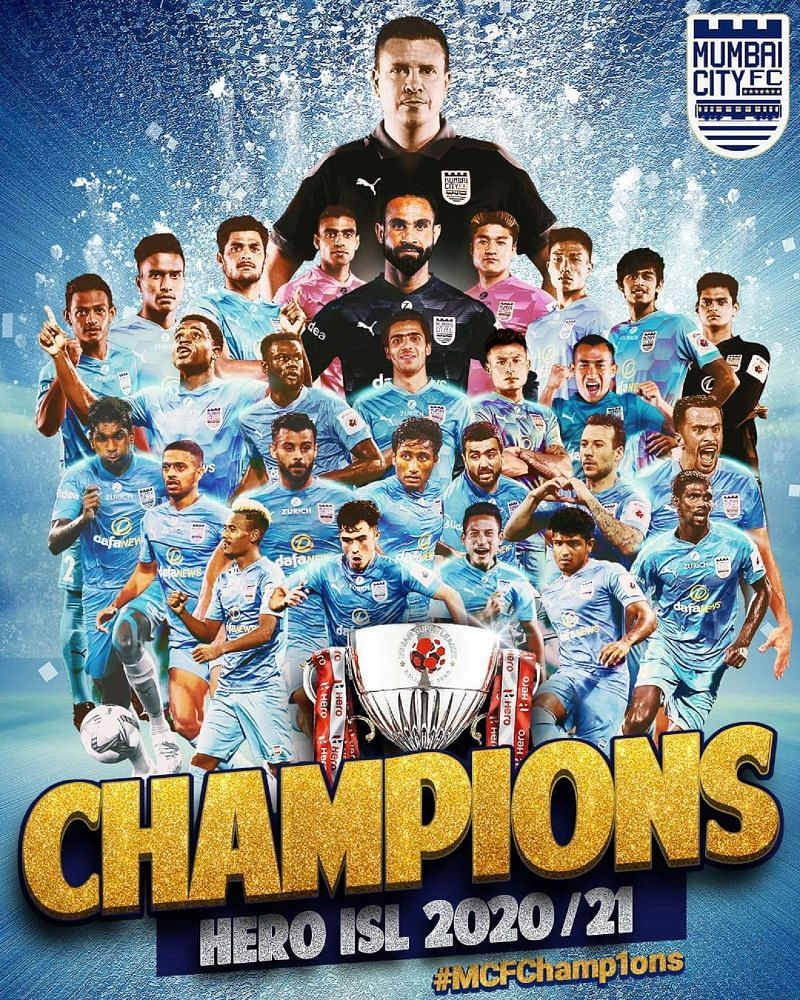 Mumbai City FC are the defending ISL champions (Picture courtesy: Mumbai City FC Facebook page)