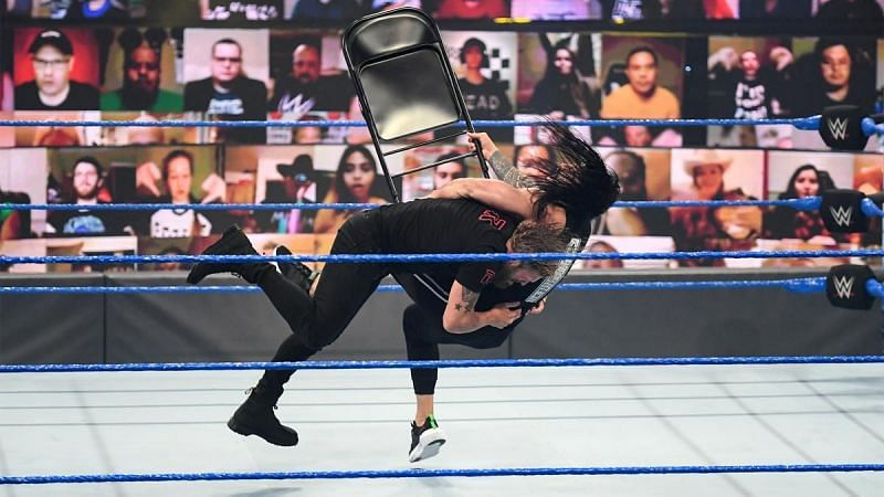 Edge made his presence known on WWE SmackDown last week