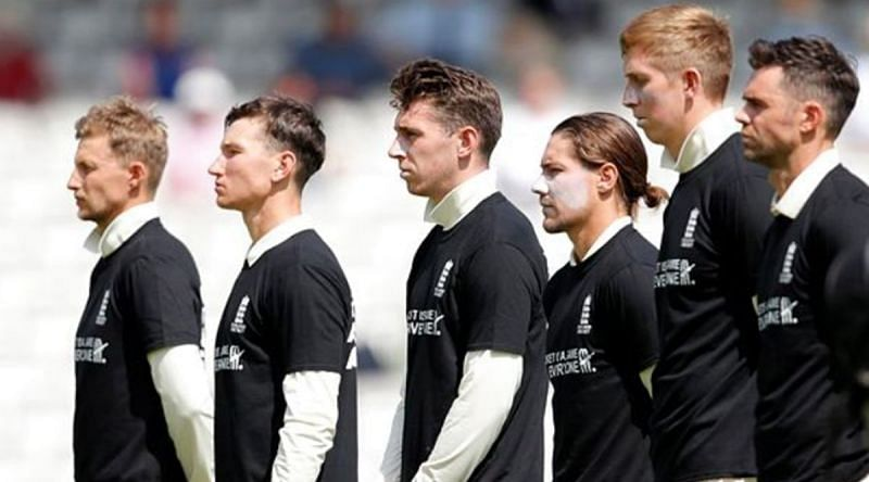 How will England respond on the field?