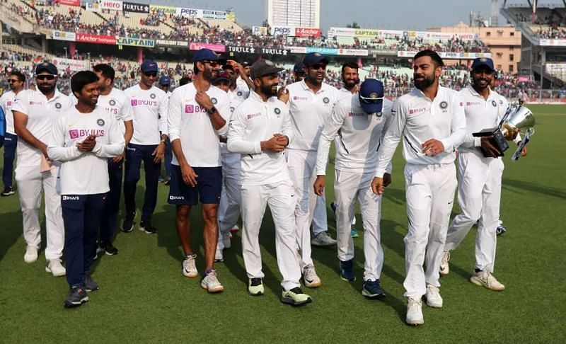 भारतीय टीम ने WTC में 6 में से 5 सीरीज को जीता
