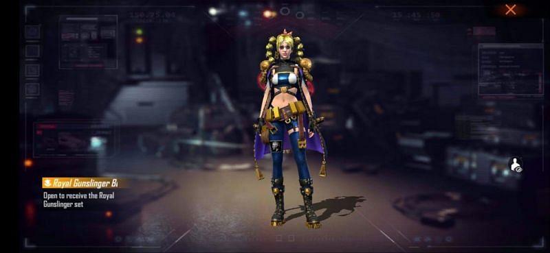 Royal Gunslinger bundle (Female Avatar)