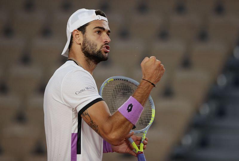Novak Djokovic will face Matteo Berrettini