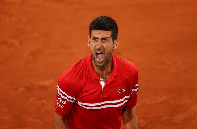 Novak Djokovic after beating Matteo Berrettini