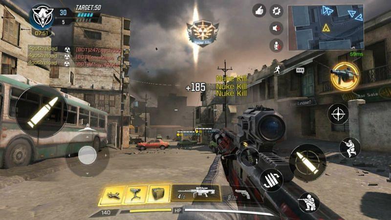 Operator Skills or Scorestreaks, powerful in killing enemies (via digit)