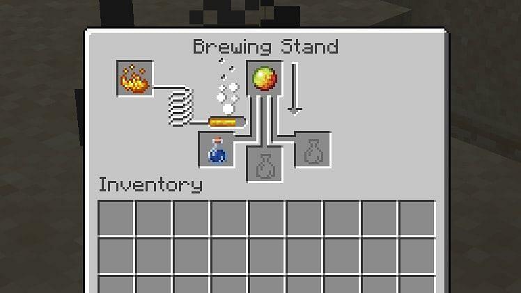 Brewing stand (Image via Minecraft)