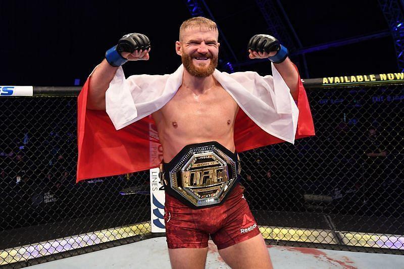 UFC Light Heavyweight Champion Jan Blachowicz