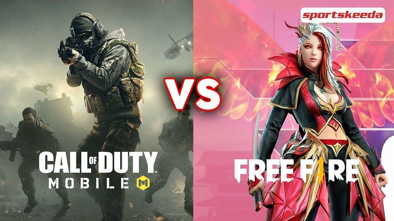Comparing COD Mobile and Free Fire