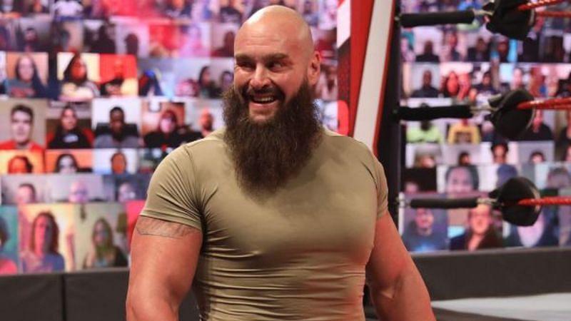 WWE surprisingly released Braun Strowman
