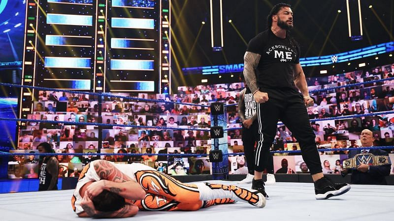 WWE Tribal Chief Roman Reigns Advices John Cena & The Rock To Stay In Hollywood 112