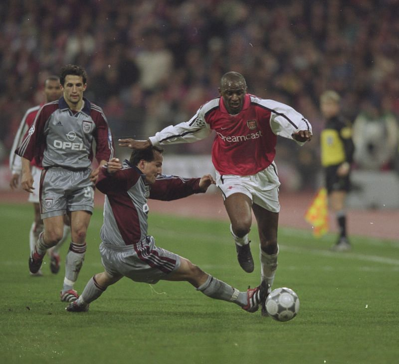 Patrick Vieira spent nine successful seasons with Arsenal.
