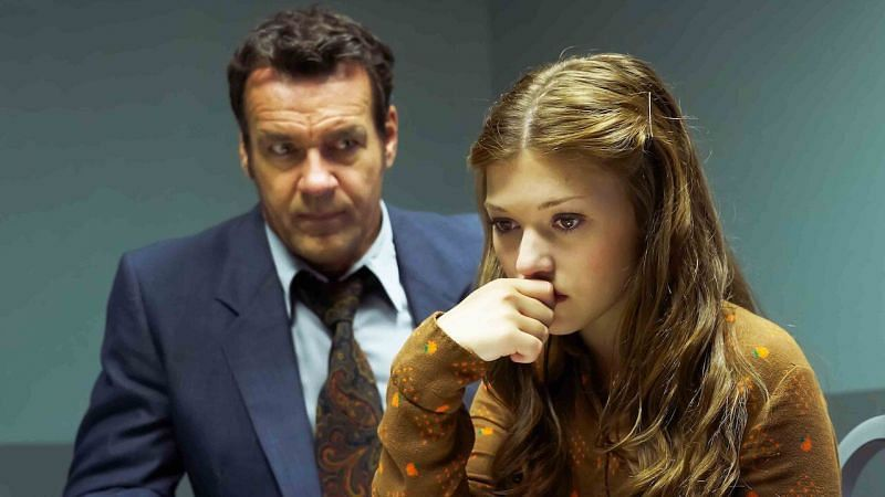 Katie Douglas and David Elliot in a still from Believe Me: The Abduction of Lisa McVey (image via Netflix)