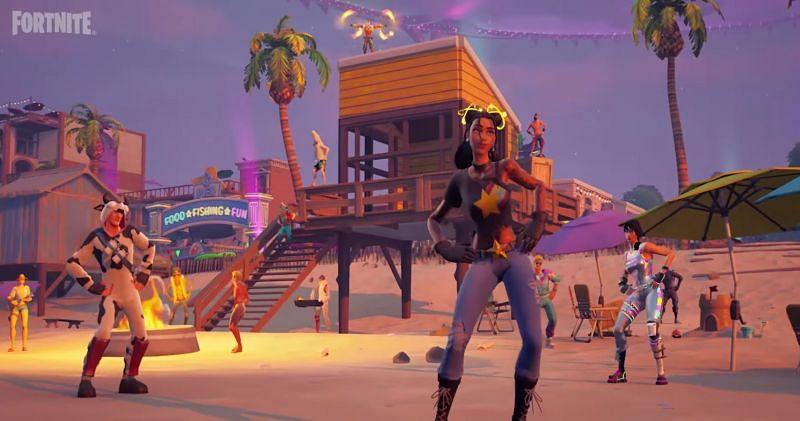 Hey Macarena (Image via Fortnite/Epic Games)