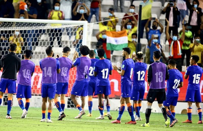 The Indian Football Team (Image Courtesy: Indian Football Twitter)