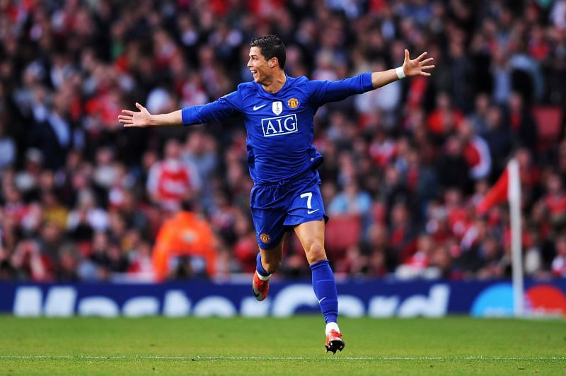 Cristiano Ronaldo spent six years with Manchester United in the Premier League