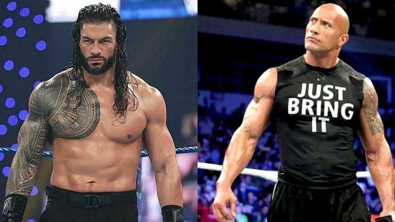 WWE में कब होगा रोमन रेंस और द रॉक का मैच?