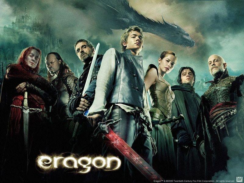 The underwhelming adaptation, Eragon (2006). Image via: 20th Century Fox / Disney