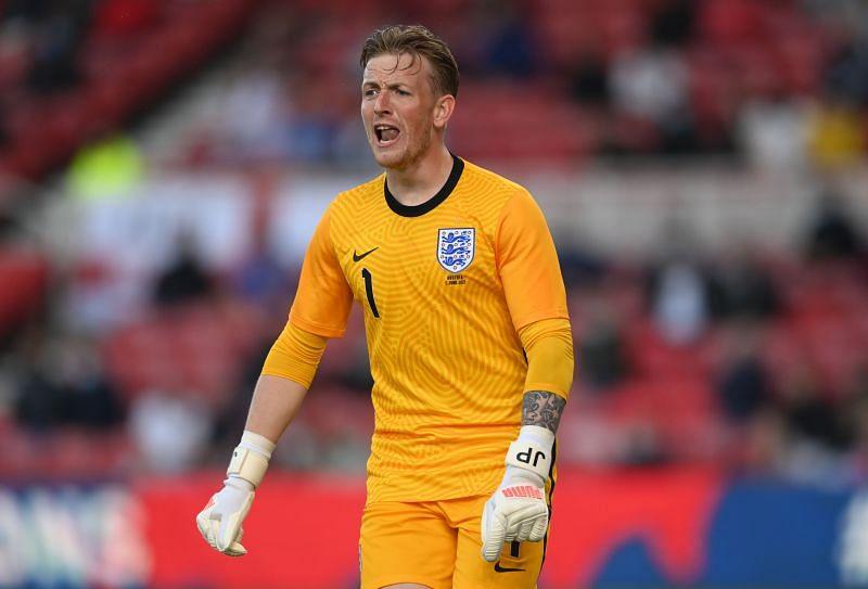 Jordan Pickford will start as England