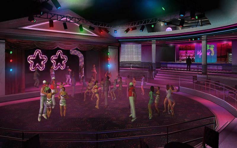Les intérieurs du Malibu Club (Image via GTA Wiki)