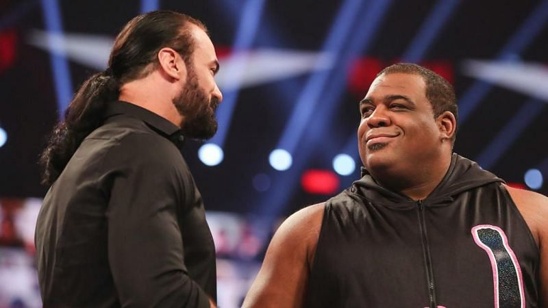 Keith Lee and Drew McIntyre crossed paths in late 2020 and early 2021