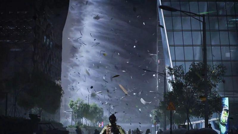 Tornado in Battlefield 2042 (Image via Battlefield)