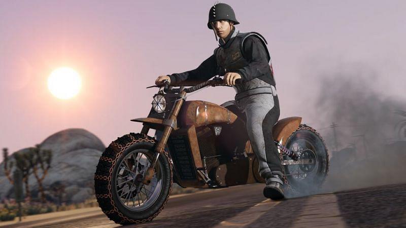 GTA players like to live dangerously on the road (Image via Rockstar Games Social Club)