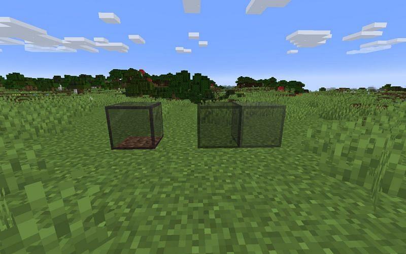 Minecraft के माध्यम से छवि