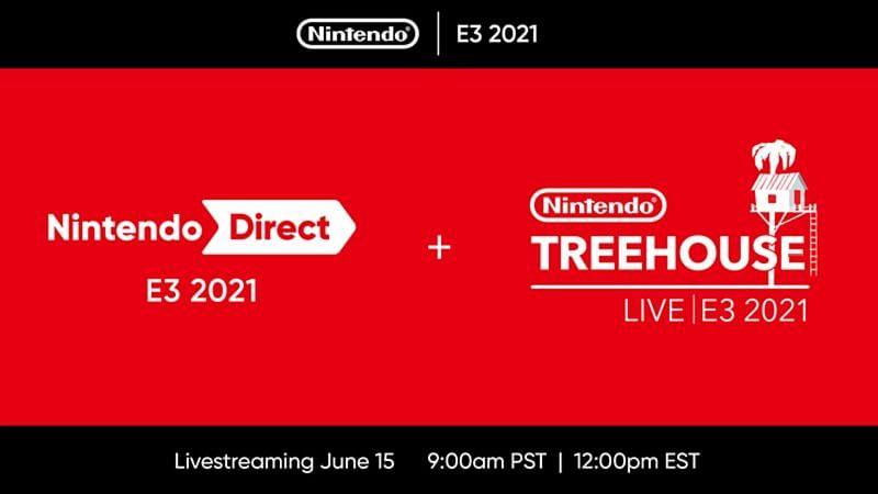 E3 2021 will feature a Nintendo Direct and Treehouse Live. Image via Nintendo