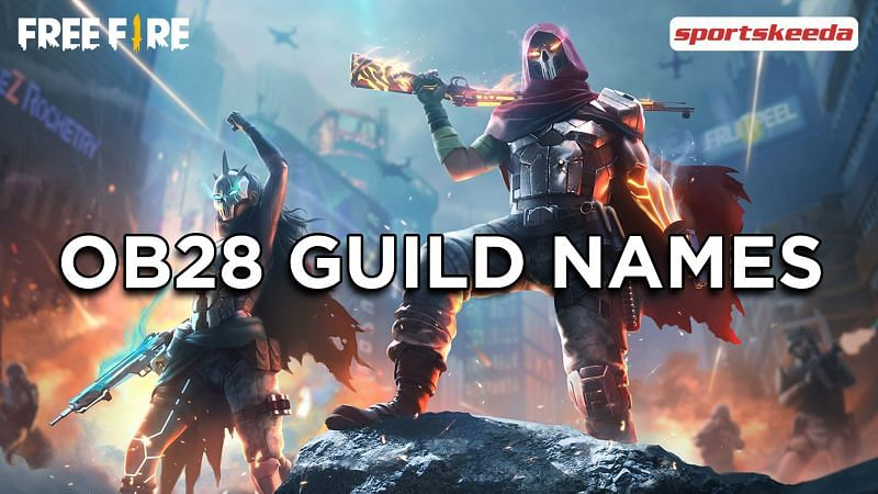 Best guild names for Free Fire (OB28 version)