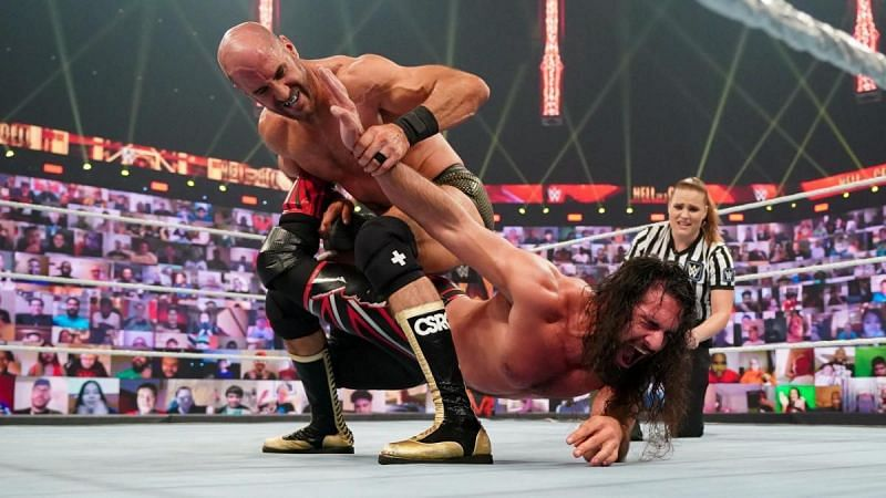 Cesaro deserved better booking at WWE Hell in a Cell 2021