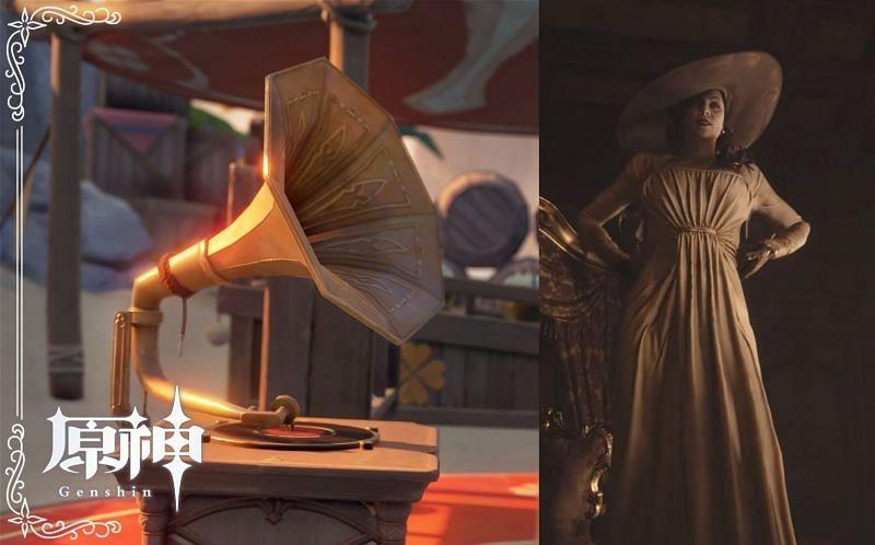 Gramophone used to convey's Alice's message in Genshin Impact (Image via miHoYo)