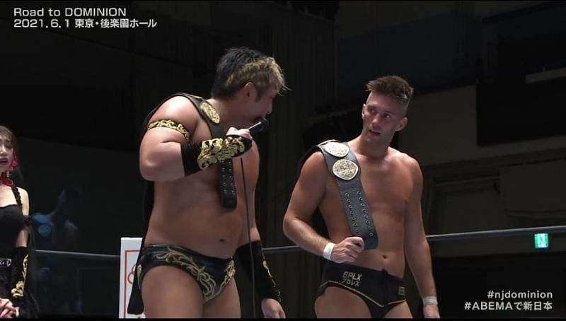 Dangerous Tekkers have won the IWGP Tag Team Championships