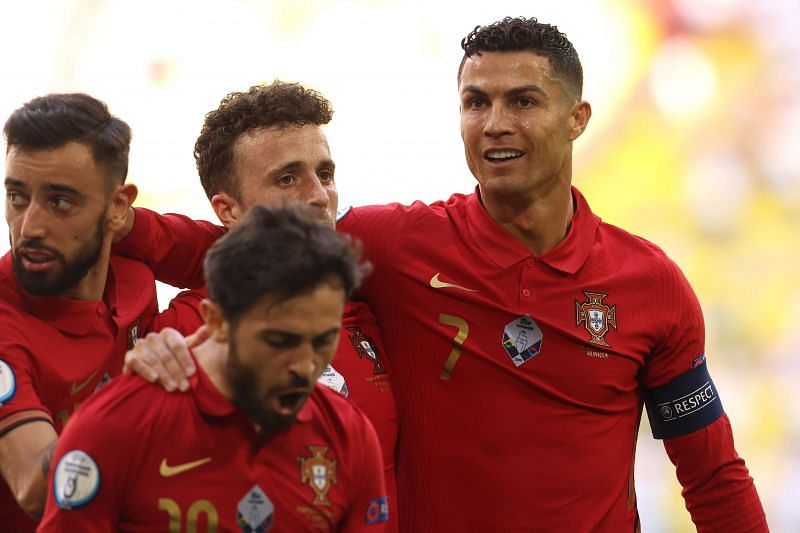 Ronaldo's goal and assist were not enough to guide Portugal to victory