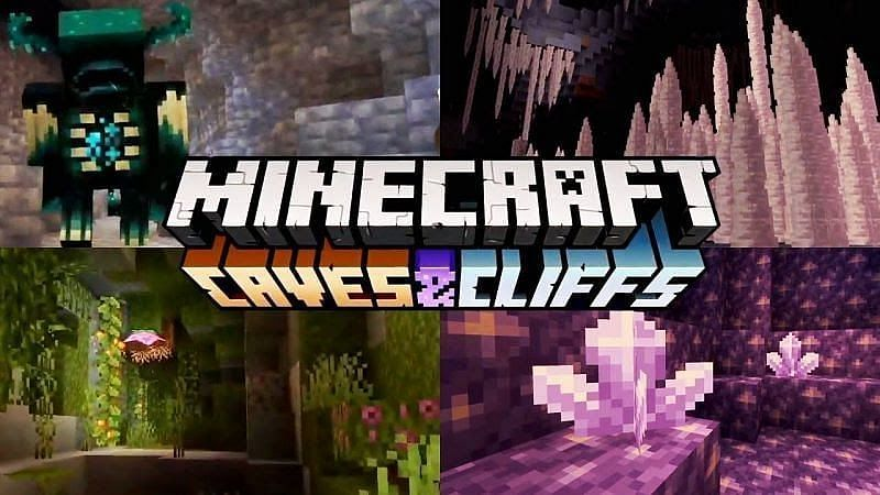 Minecraft 1.17 Caves and Cliffs Update – The Blue and Gold