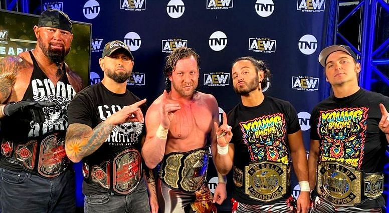 Kenny Omega and The Elite are part of a growing number of groups that have flooded AEW's roster